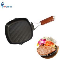 $enCountryForm.capitalKeyWord NZ - Upspirit Multifunctional Non -Stick Skillet Frying Pan Iron Foldable Bbq Griddles Grill Pans Panelas Frigideira Cooking Pan New