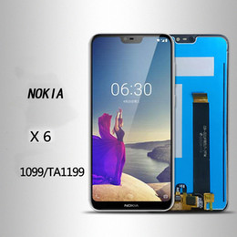 For Nokia X6 TA-1099 TA-1199 The universal version of the Nokia touch display has a quality of A+++.