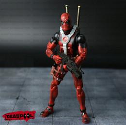 X Men Figures Australia - NEW hot ! 16cm Super hero Justice league X-MEN Deadpool action figure toys Christmas toy NO BOX