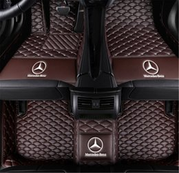 $enCountryForm.capitalKeyWord UK - Custom Car Floor Mats Fit for Mercedes Benz CLK Class 200 240 280 350 2004-2006 Full Coverage All Weather Protection Waterproof Non-Slip