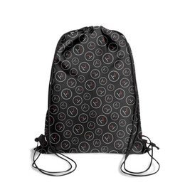 string bow tie NZ - Drawstring Sports Backpack Twenty One Pilots outdoor durable limited edition Pull String Backpack