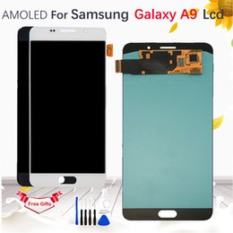 $enCountryForm.capitalKeyWord Australia - 6.0''AMOLED For Samsung Galaxy A9 2015 A9000 SM-A900F A900 LCD Display Touch Screen Digitizer Panel Assembly with tools