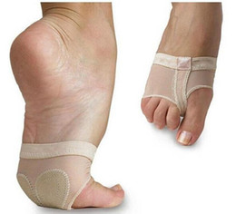 Cushion feet shipping online shopping - Ballet Dance Paws Cover Foot Forefoot Toe protector Cushion Pad Half Protection