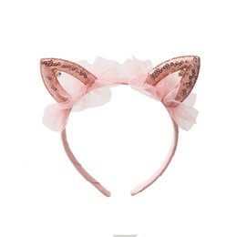 Apparel Accessories Girl's Hair Accessories Sporting Party Supplies Girlss Cat Ears Headbands Crown Tiara Princess Plastic Animal Hair Band Butterfly Bow Hoop Accessories Headwear