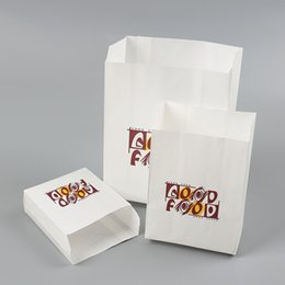 $enCountryForm.capitalKeyWord Australia - Oil proof snack packing bag breakfast french fries chicken packaging food packing paper bag DHL free shipping