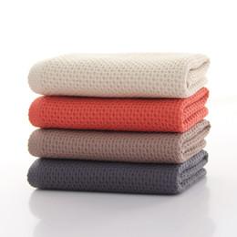 $enCountryForm.capitalKeyWord UK - Gaoyang wash towel cotton adult home honeycomb waffle Japanese towel factory direct business gift
