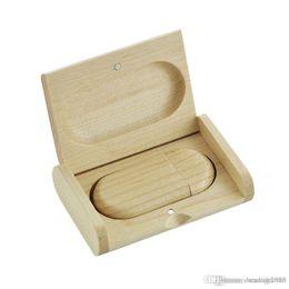 $enCountryForm.capitalKeyWord Australia - Brand Wooden Usb Flash Drive 4GB 8GB 16GB 32GB 64GB Custom Logo Memory Stick
