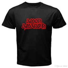 Goth Metal Australia - New AMON AMARTH Death Metal Goth Rock Band Logo Men's Black T-Shirt Size S-3XL