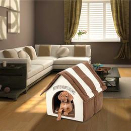 $enCountryForm.capitalKeyWord Australia - Pet House Luxury Dog Room Dog Cat Bed IndoorWinter Warm House Comfortable Soft Tent Kennel Legowisko Dla Psa #T20