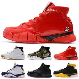a377176f0615 New 2019 Kobe 1 Protro ZK1 Men s Kids Basketball Shoes