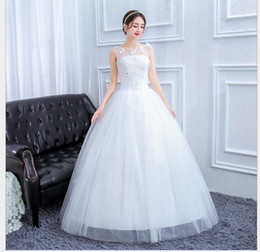 769f2ec9606 Photo wedding bride married new Sen Department word shoulder tube top  princess tail luxury large size female
