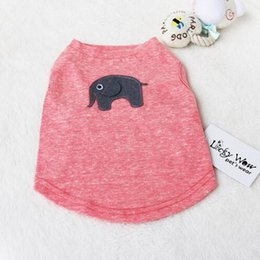 Cool Animal T Shirts NZ - 2019 Top Seling Cat T-shirt Summer Breathable Cool Vest for small dogs XS S M L XL pet dog clothes 100% Cotton Dog Vests