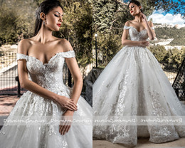 $enCountryForm.capitalKeyWord NZ - High Quality Cheapest Luxury Beadings Lebanon Ballgown Lace Wedding Dresses Dubai Weddings Off Shoulder Bridal Dress free shipping