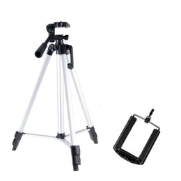 Wholesale KT A Mobile phone tripod Projection camera tripod Video video selfie Mobile phone live bracket robust cheap hot