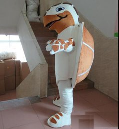Factory Outlet Suits Australia - 2019 Factory Outlets brown & white sea turtle mascot costume suit for adults to wear for sale