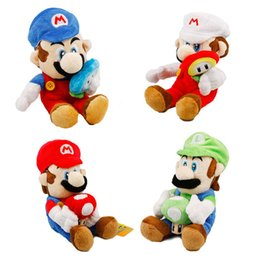 Wholesale 2019 new arrival styles Mario Mushroom plush toys Luigi Mushrooms cm Super Mario Bros Plush children Super Mario Bros game toys