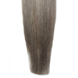 """26 Fusion Hair UK - Unprocessed Virgin Indian Remy Hair Extensions 100S Pre Bonded Nail U TIP Hair Extensions Keratin Fusion Remy Hair Extensiions 14"""" 16"""" 18"""