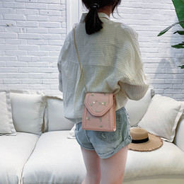 Fairy Style Dresses UK - Superior2019 Style Western Texture Bag Woman All-match Oblique Tide Satchel Small Fresh Fairy Lace Chain