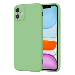 Опт ТПУ Мягкий чехол для телефона iPhone 11 Pro MAX XS XR SE 2 многоцветной матовая задняя сторона обложки для Samsung S20 плюс ультра