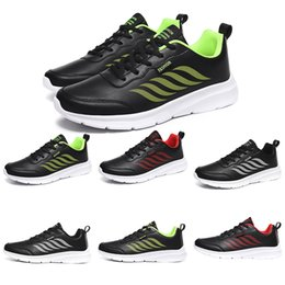 china sports shoes sneaker Canada - New Fashion Running Shoes for men women Leather Sports Shoes Designer Trainers sneakers Homemade Brand Made in China size 39-44