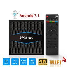 $enCountryForm.capitalKeyWord Australia - H96 Mini Android 7.1 TV Box 2GB 16GB Amlogic S905W Quad Core Bluetooth 4.0 100M LAN 2.4 5.0G WiFi 4K 1080P H.265 IPTV Smart Media Player