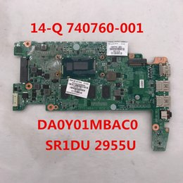 Hp laptop motHerboard test online shopping - High quality for Q Laptop motherboard DA0Y01MBAC0 With SR1DU U CPU Intel H87 full Tested