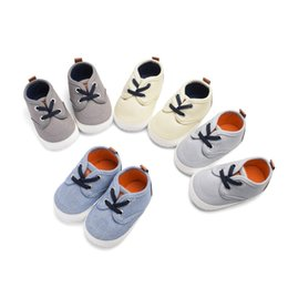 Baby Girl Summer Canvas Shoes Australia - Perimedes Newborn Baby Girls Boys Shoes Baby Summer 2019 Canvas Sewing Breathable Non-Slip Casual Fashion Toddler Shoes