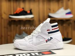 8 Fotos Ala de arranque online-Fila scarpe Disruptors wing Suede Zapatillas  de baloncesto para hombre Blanco 571ecc5ba7e