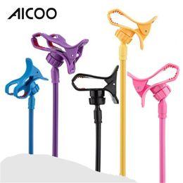 AICOO Многофункциональный универсальный держатель для мобильного телефона Candy Color Тумбочка Creative Snap-on Пластиковая ленивая подставка для телефона менее 6,3 дюйма OPP