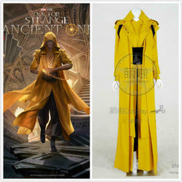 doctor cosplay Australia - HZYM Women's Doctor Strange Master Ancient One Cosplay Costume:Free shipping
