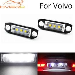 $enCountryForm.capitalKeyWord NZ - 2 Pcs Canbus LED Auto Lamp 12V Car License Plate Lights 6500K White For Volvo S80 XC90 S40 V60 XC60 S60 C70 V50 XC70 V70 low energy