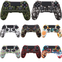 video games cases NZ - eaSFH New design controller Protective Accessories Game Thumbstick cover for ps4 Video case