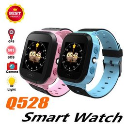$enCountryForm.capitalKeyWord Australia - Q528 Touch Screen Child Smart Watch Phone Anti-lost Children Kids LBS Tracker Wrist Watchs SOS Call For Android IOS Gift for Girl and Boy