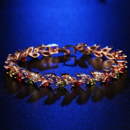 colorful zircon bracelet NZ - HONGHONG high-quality women's bracelet Horse eye Colorful Zircon bracelets & bangles European Classic Fashion Jewelry best gift send girl