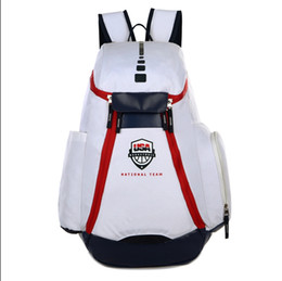 fc86495978d 2019 designerNew National Team Backpack The Olympic Mens Womens Designer  Bags Teenager Black White Blue Outdoor Basketball Backpack 3 Colour