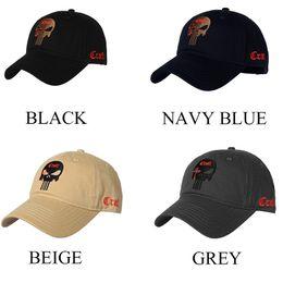 Baseball Cap Beige Australia - Handled By Aliexpress Replace Link TSNK Cotton Baseball Cap Tactical army caps Seals Punisher American Sniper baseball hat