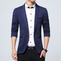 Large Lapel Suits Australia - 2019 casual suits men's large size small suits wholesale Korean version of the small suit jacket will be West men's body