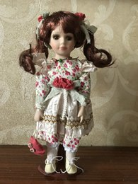 $enCountryForm.capitalKeyWord Australia - 12.5 inch Elegant Victorian Porcelain Doll with Stand Girl People Figures in Dress Gift Adult Collections 2#