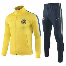 Best Club Jerseys Australia - wholesale best Mexico 18 19 Club de Futbol América jacket Rodriguez sportwear 2018 2019 Menez soccer jersey Martinez Martin training suits