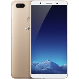rate android mobiles UK - Original VIVO X20 Plus 4G LTE Mobile Phone 4GB RAM 64GB ROM Snapdragon 660 Octa Core Android 6.43 inch 12.0MP Face ID Fingerprint Cell Phone