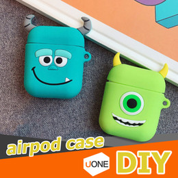 China Cute DIY Silicone Case For Apple Airpods Accessories Special 3D Animal Soft Case Cover with Anti-lost Strap Decoration Gifts Toy cheap iphone soft animal suppliers
