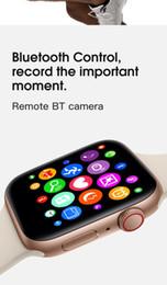 Discount kids apple iwatch - iphone iwatch IWO 9 Smart watch 44mm Series 4 1to1 Bluetooth Smartwatch Heart Rate Monitor Sport Wisrtwatch for Huawei X