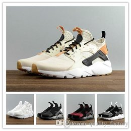 Discount newest outdoor soccer shoes 2018 Newest Fashion Air Huarache Ultra breathable Running Shoes For Men Outdoor Airs Huaraches Shoes Athletic Sport Shoe