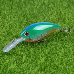 Make Fishing Lures Australia - New 1pcs Hard Crank Fishing Lures Artificial Make 10cm 14g Wobblers Fishing Tackle 5 Colors Available Plastic Hard Baits Pesca