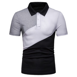 $enCountryForm.capitalKeyWord UK - Brand Clothing Men Shirt Men Business Casual Solid color patchwork Male Shirt Short Sleeve High Quality Polyester 5.22