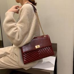 Brand Computer Australia - Luxury Handbags Women Bags Designer 2019 Brand Bags Simple Diagonal Stripeschain Crossbody Shoulder Bags Bolsa Feminina