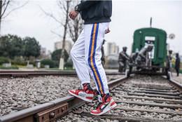 Wholesale capris pants resale online – Mens Pocket Patchwork Pants Fashion Drawstring Pencil Pants Mens Regular Mid Waist Striped Print Capris Pants