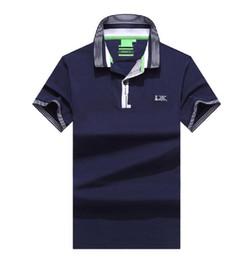 England polo shirt online shopping - Hugo men polos brand Bosses polo shirt mens fashion casual polo cotton tshirt top quality mens t shirt business polos shirts designer tee