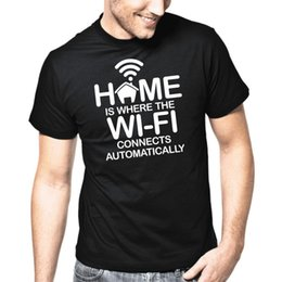 346172d3 Tee Shirt Fun Australia - Home Is Where The Wi-Fi Connects Automatically |