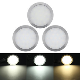 Led ceiLing dome Light online shopping - 6pcs V Car Interior LED Spot Light Ceiling Dome Lamp for Lorry Motorhome Caravan Bus Boat Wardrobe Cupboard Bookcase